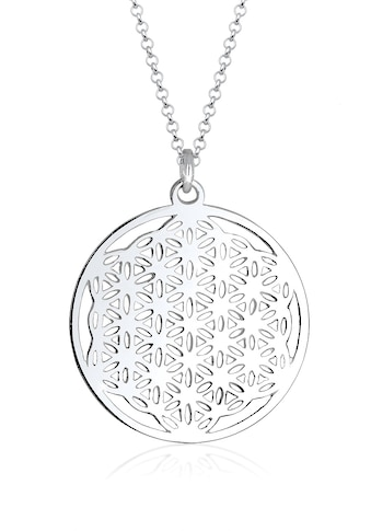 Elli Kette mit Anhänger »Ornament Lebensblume Symbol 925 Sterling Silber« kaufen