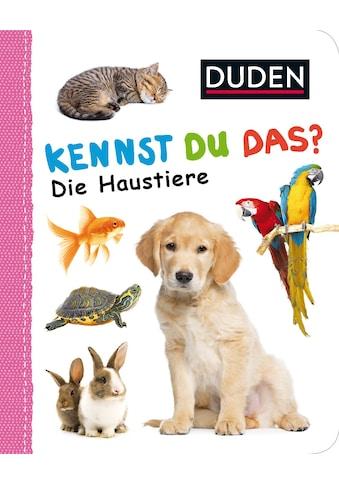 Buch »Kennst du das? Die Haustiere / DIVERSE« kaufen