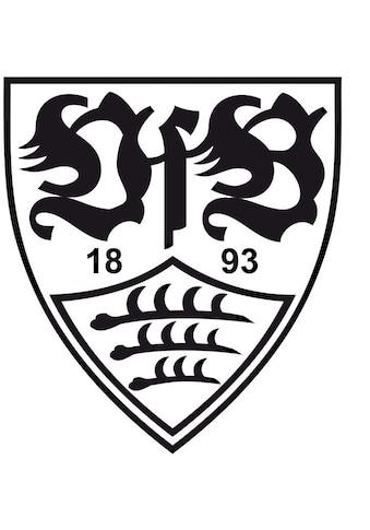 Wall-Art Wandtattoo »Fußball VfB Stuttgart Logo« kaufen