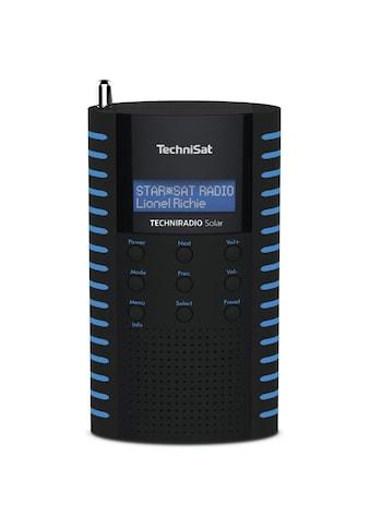 TechniSat DAB+ Digitalradio, Solar Radio, LCD, USB kaufen