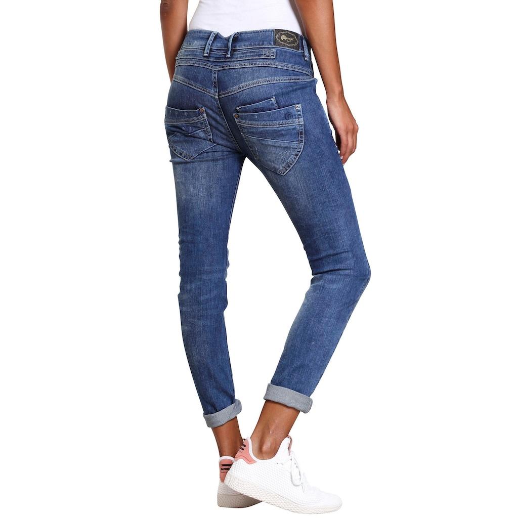 GANG Skinny-fit-Jeans »MARGE«, mit besonderem 4-Knopf-Verschluss