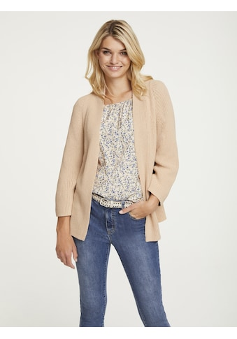 LINEA TESINI by Heine Strickjacke, in Perlfangstrick kaufen