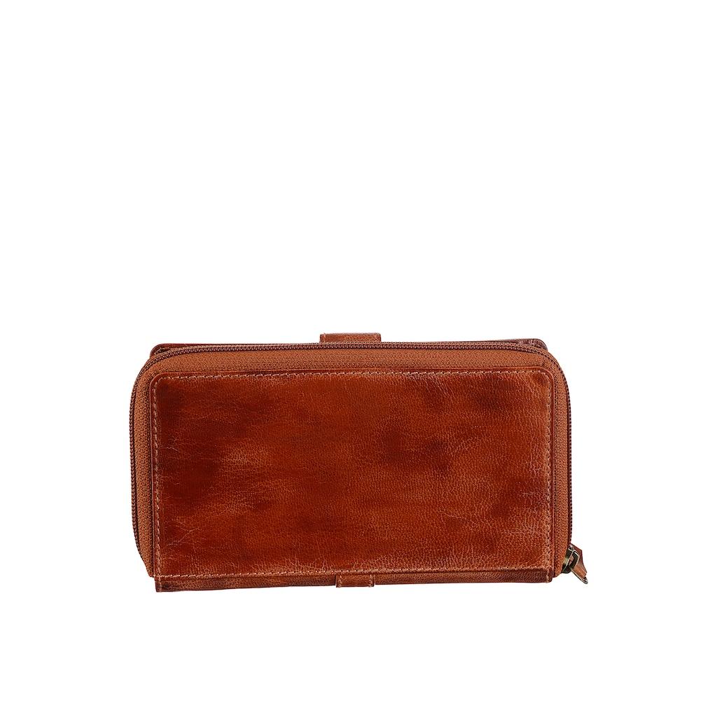 Bruno Banani Geldbörse, mit praktischer Einteilung, echtes Leder