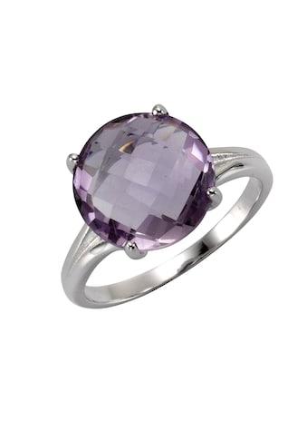 Zeeme Fingerring »925/- Sterling Silber rhodiniert Amethyst«, Ring kaufen