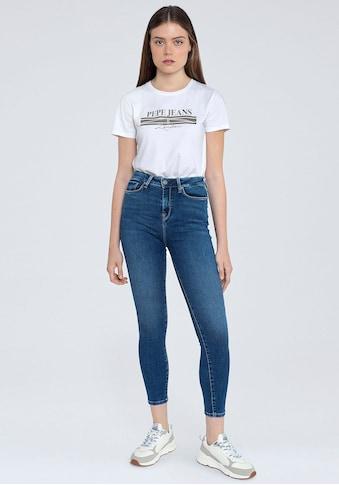 Pepe Jeans Slim-fit-Jeans »DION«, mit hohem Bund und Stretch-Anteil kaufen