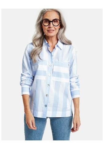 GERRY WEBER Bluse 1/1 Arm »Langarmbluse mit breitem Streifen« kaufen