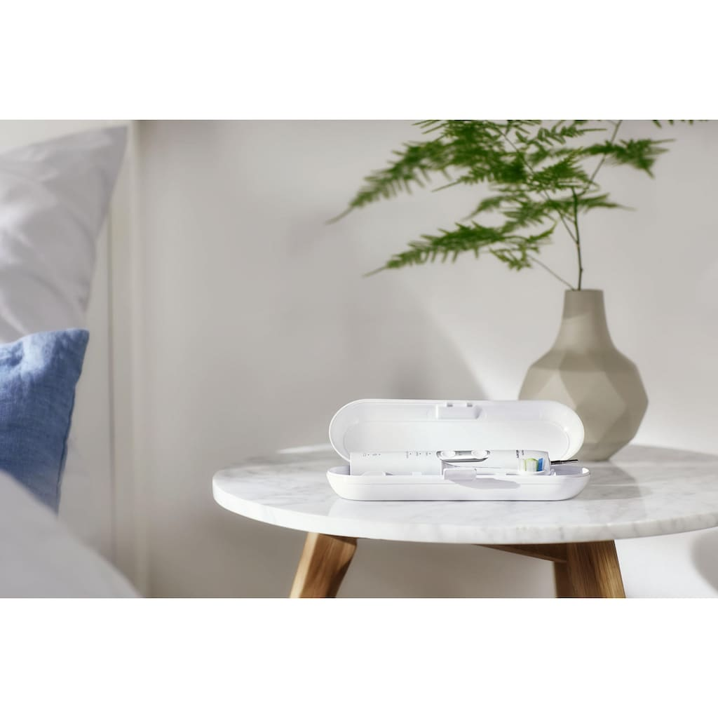 Philips Sonicare Elektrische Zahnbürste »HX6877/28«, 1 St. Aufsteckbürsten, ProtectiveClean 6100, Schallzahnbürste, mit 3 Putzprogrammen inkl. Reiseetui & Ladegerät