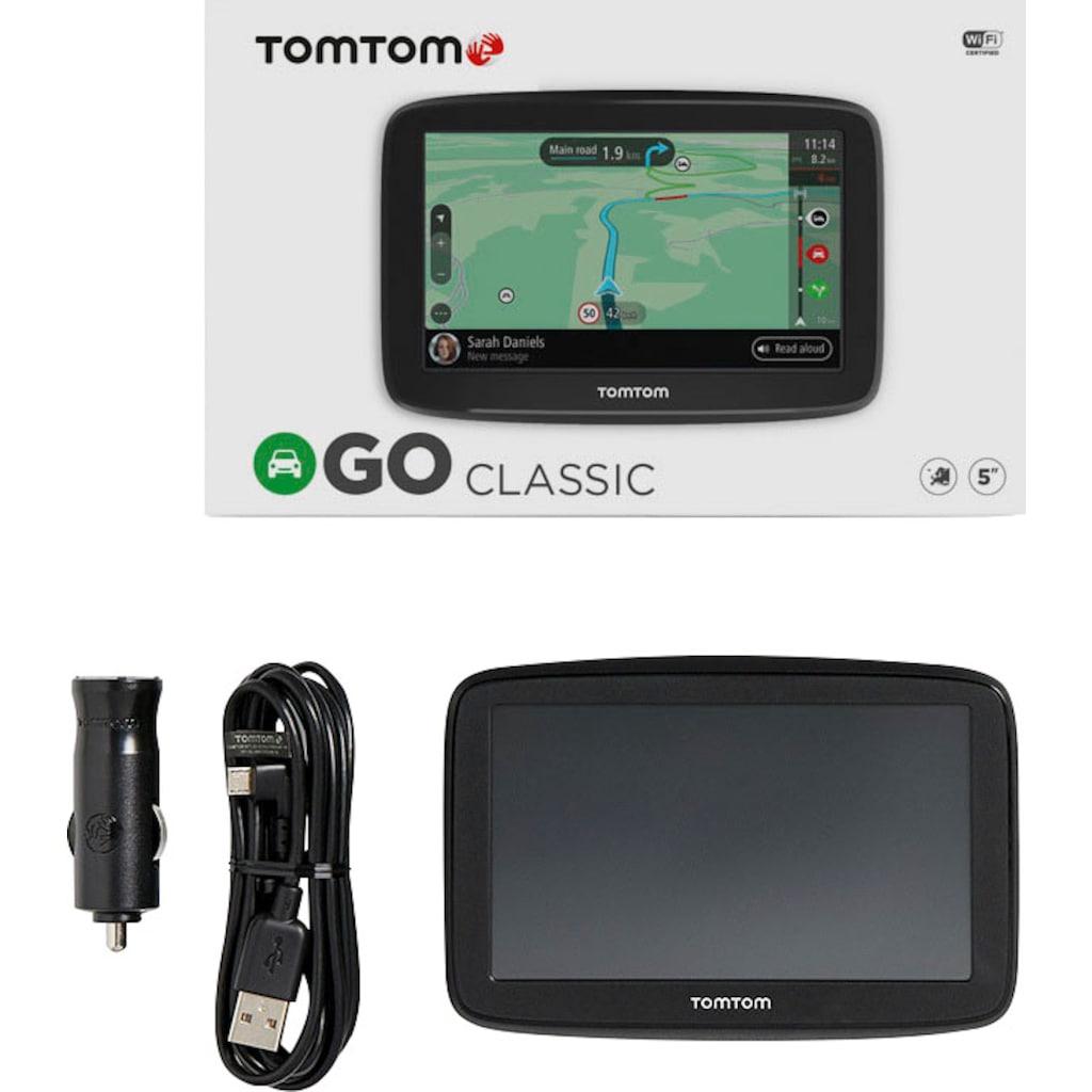 "TomTom PKW-Navigationsgerät »GO Classic 5""«, (Europa (48 Länder) Karten-Updates)"