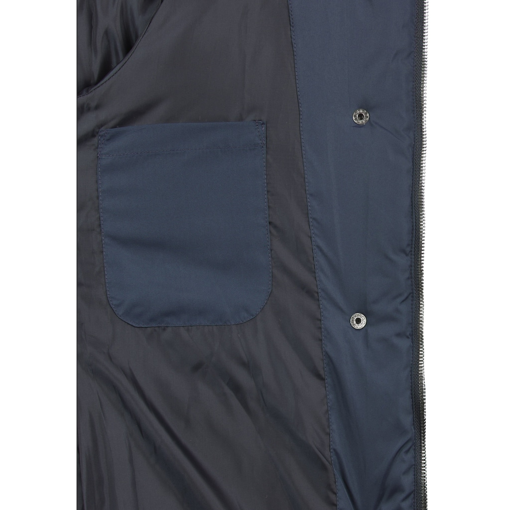 DESIRES Steppmantel »Denise«, Mantel mit abnehmbarer Kapuze
