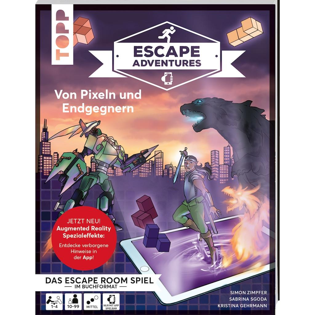 Buch »Escape Adventures AR - Augmented Reality. Von Pixeln und Endgegnern / Sebastian Frenzel, Beate von Lühmann, Kristina Gehrmann, Simon Zimpfer, Sabrina Sgoda«