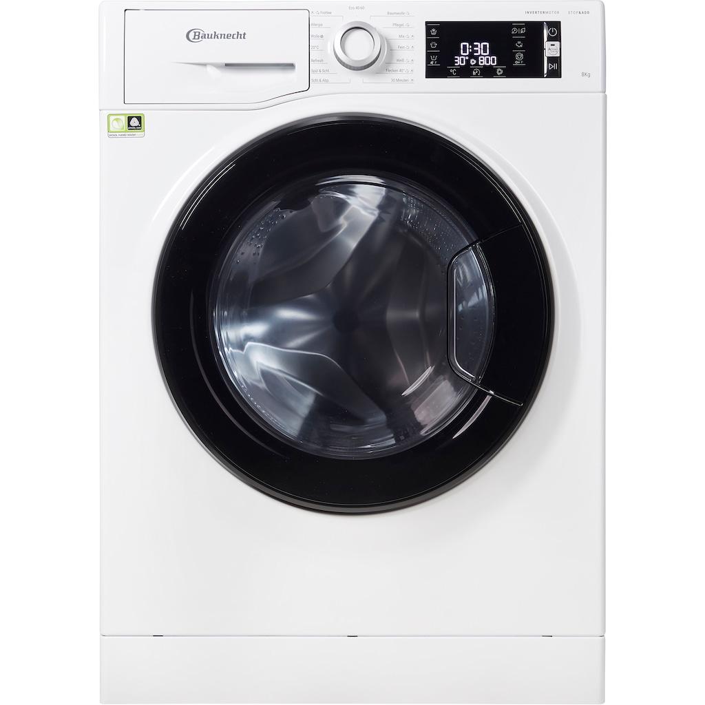 BAUKNECHT Waschmaschine »WM ELITE 823 PS«, WM ELITE 823 PS, 8 kg, 1400 U/min