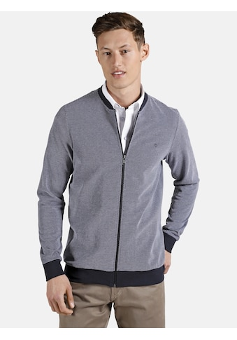 Charles Colby Sweatjacke »EARL CLIFFORD«, aus two-tone Pikee kaufen