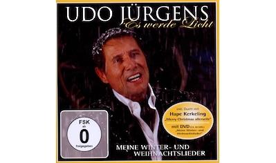 Musik - CD Es Werde Licht - Meine Winter - +Weihnachtslieder / Jürgens,Udo, (2 CD) kaufen