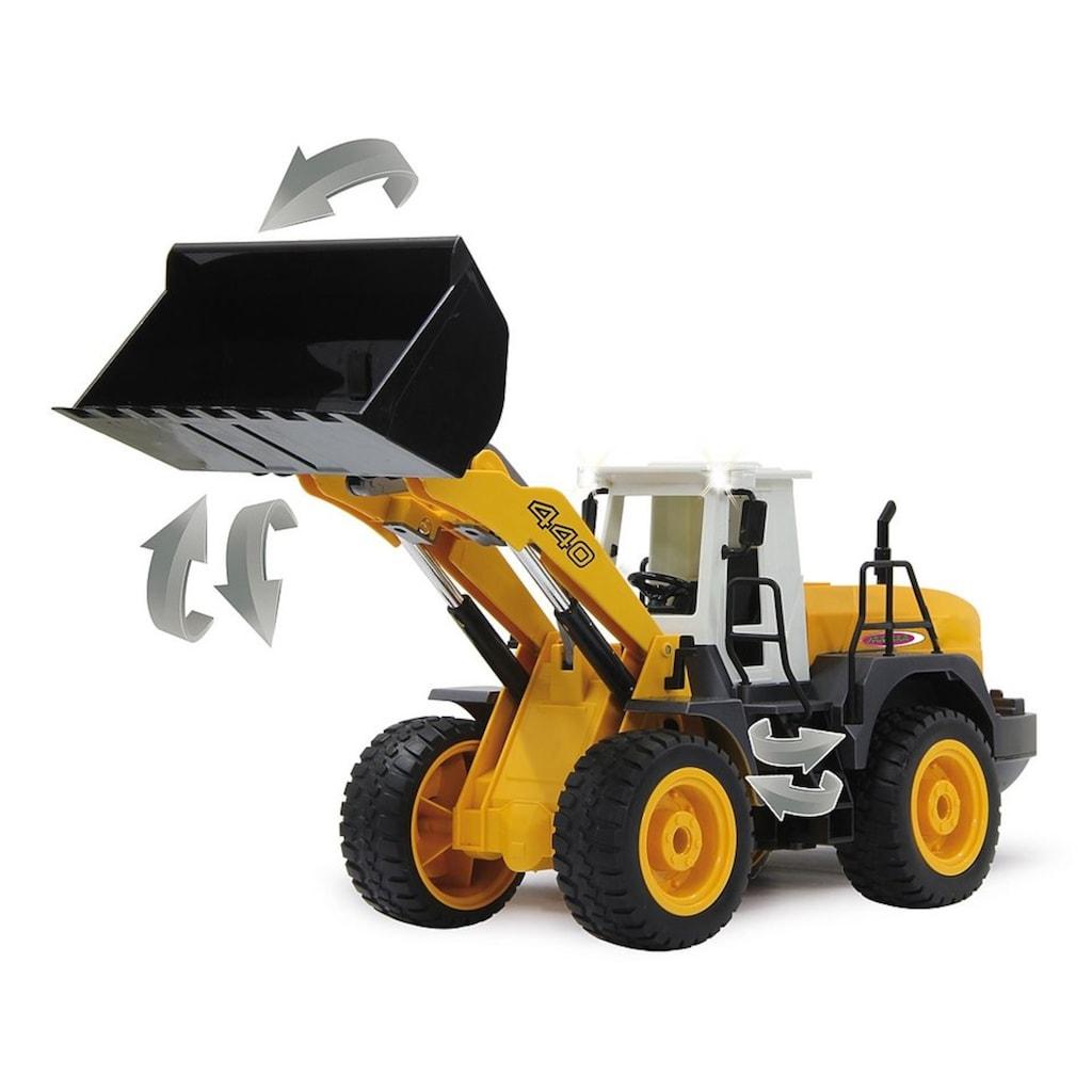 Jamara RC-Bagger »Radlader 440 2,4GHz«, mit Motorensound