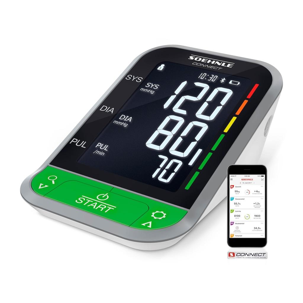 Soehnle Oberarm-Blutdruckmessgerät »Systo Monitor Connect 400«, mit Bluetooth®
