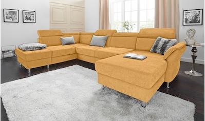 sit&more Wohnlandschaft, wahlweise mit Bettfunktion und Stauraum, inklusive... kaufen