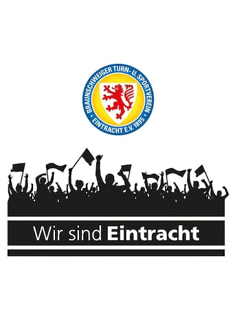 Wall-Art Wandtattoo »Eintracht Braunschweig Fans Logo« kaufen