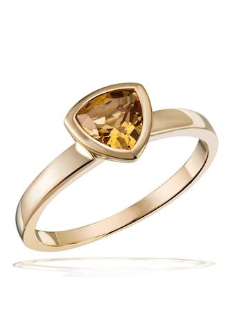 goldmaid Damenring 375/- Gelbgold 1 Citrin kaufen