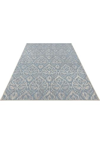 bougari Teppich »Choy«, rechteckig, 4 mm Höhe, In- und Outdoor geeignet, Flachgewebe,... kaufen