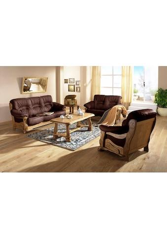Max Winzer® 2-Sitzer »Texas«, mit dekorativem Holzgestell, Breite 147 cm kaufen
