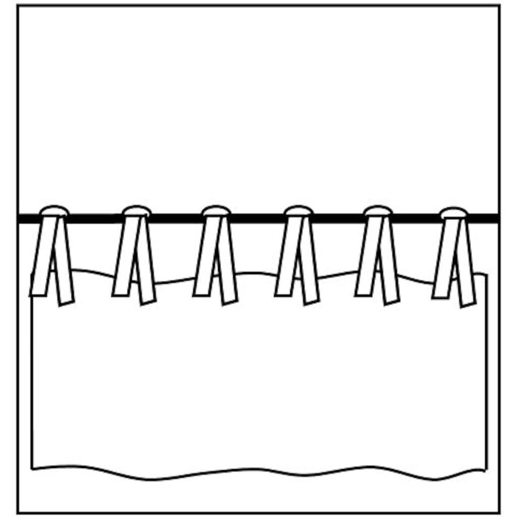 Kutti Raffrollo »Rustico«, mit Bindebänder