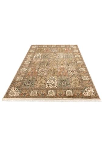 DELAVITA Orientteppich »Suren«, rechteckig, 12 mm Höhe, Flor aus 30% Seide,... kaufen