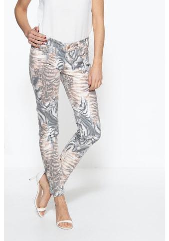 ATT Jeans 5-Pocket-Jeans »Lindsey«, mit Animalprint kaufen