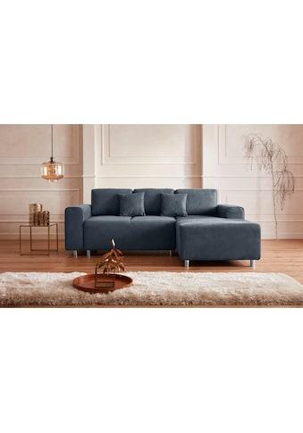 Guido Maria Kretschmer Home&Living Ecksofa »Györ«, wahlweise mit Bettfunktion und... kaufen