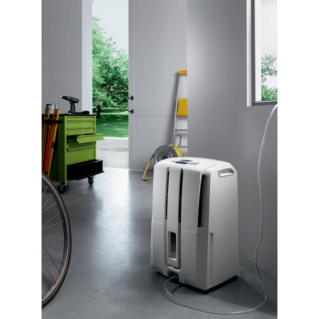 De'Longhi Luftentfeuchter »DD230P«, für 150 m³ Räume, Entfeuchtung 30 l/Tag, Tank 7 l