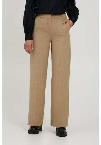 b.young Bundfaltenhose »BYDANTA WIDE LEG PANTS 2 - 20806640«, Stoffhose mit... kaufen