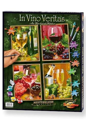 Schipper Malen nach Zahlen »Meisterklasse Quattro - In Vino Veritas«, Made in Germany kaufen
