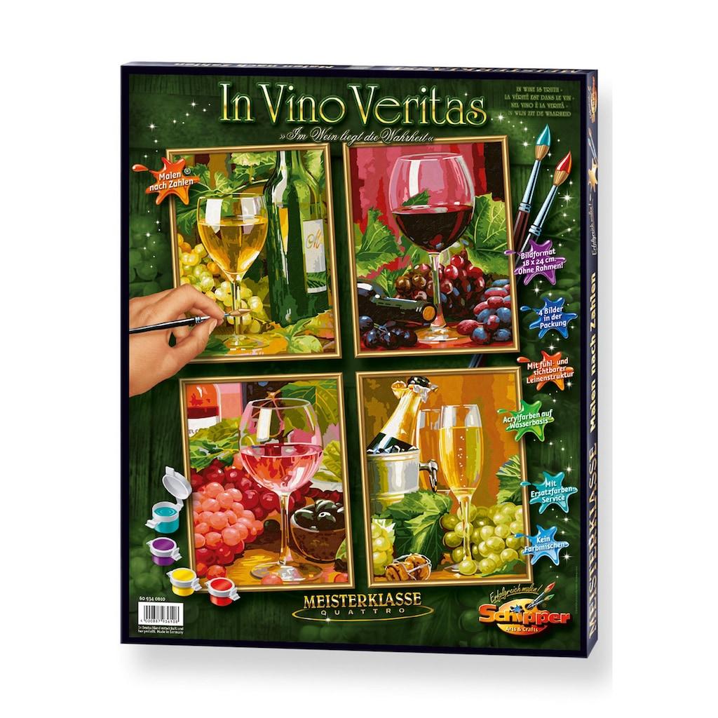 Schipper Malen nach Zahlen »Meisterklasse Quattro - In Vino Veritas«, Made in Germany