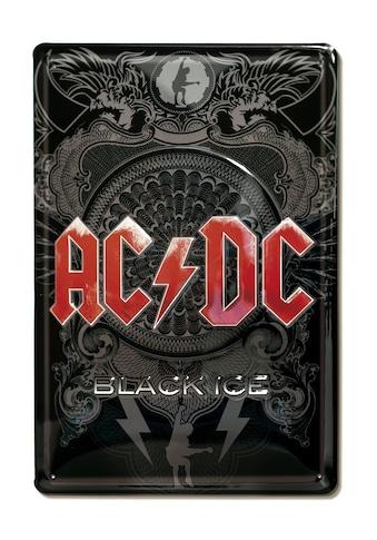 LOGOSHIRT Blechschild mit coolem AC/DC - Motiv kaufen