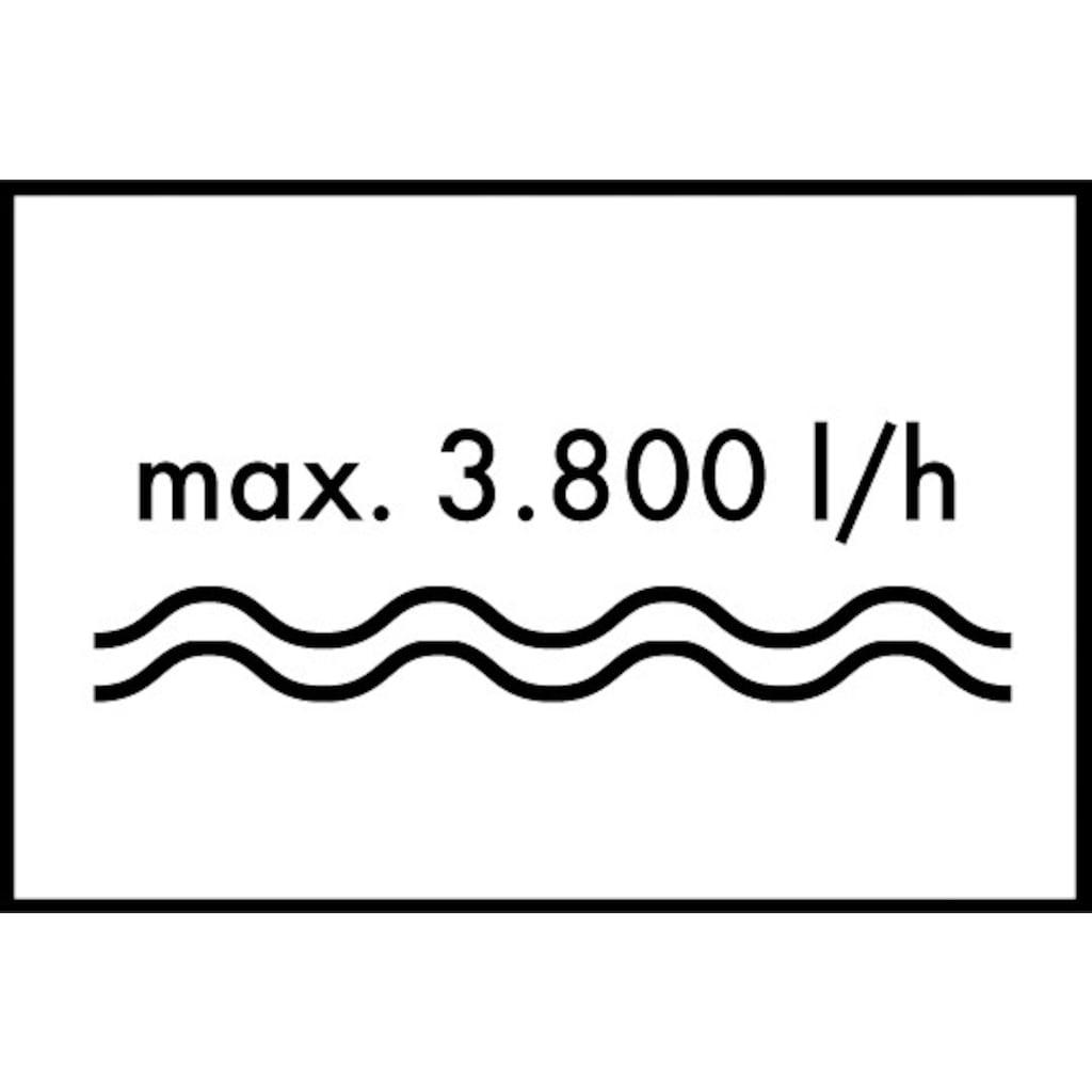 Hanseatic Hauswasserwerk »HWW 3819 Inox«, inkl. Saugschlauchgarnitur und Vorfilter