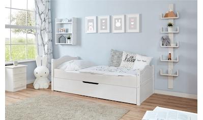Ticaa Einzelbett »Leni«, mit Zusatzbett kaufen