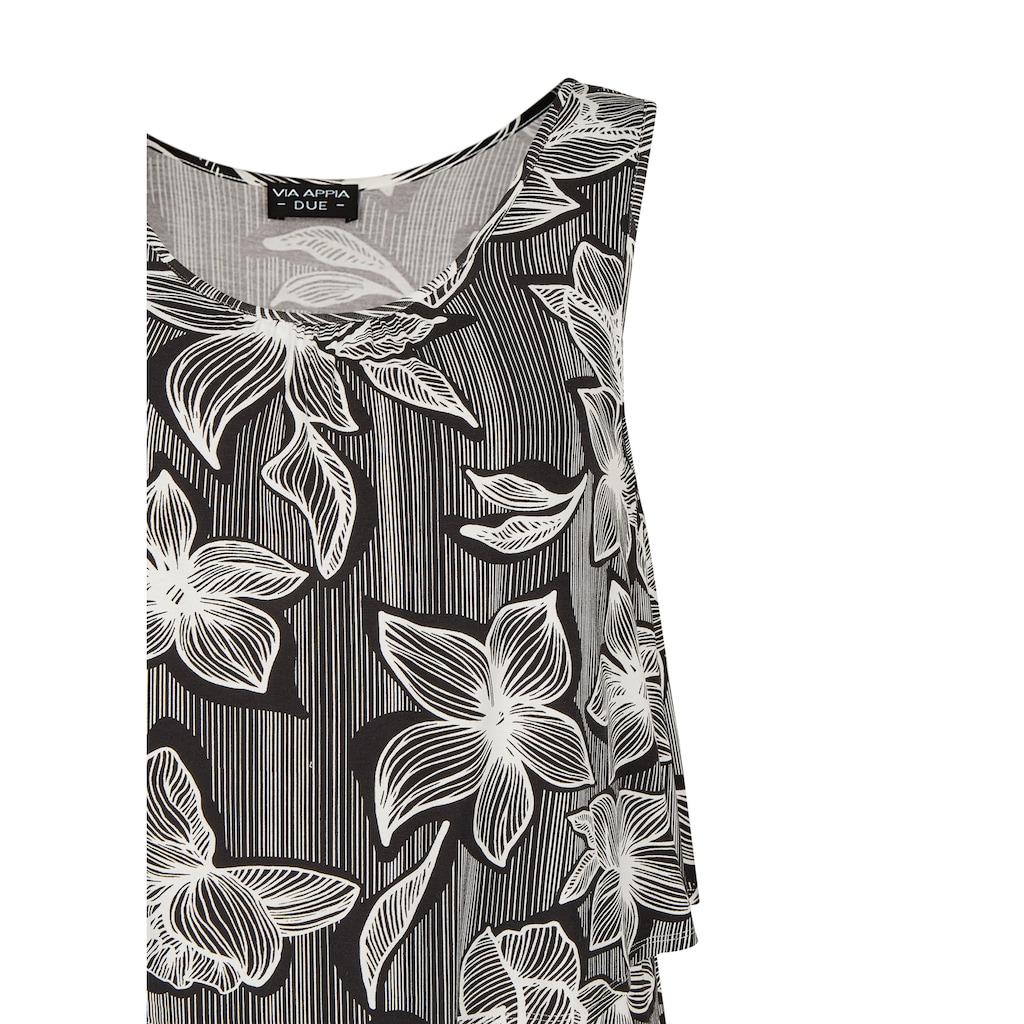 VIA APPIA DUE Modisches Kleid mit Allover-Print