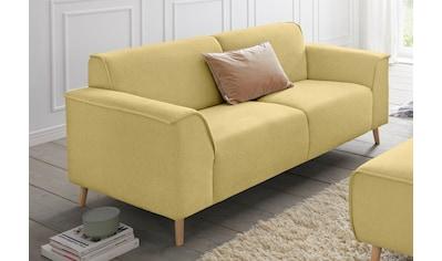 andas 2,5-Sitzer »Janek«, mit Federkern und Keder in scandinavischem Design kaufen