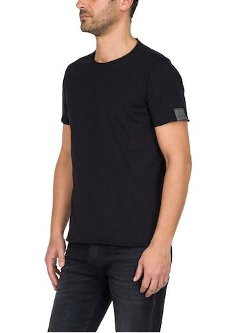 Replay T-Shirt, offene Kanten kaufen