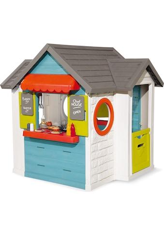 Smoby Spielhaus »Chef Haus«, Made in Europe; Gartenhaus, Restaurant und Kaufmannsladen... kaufen