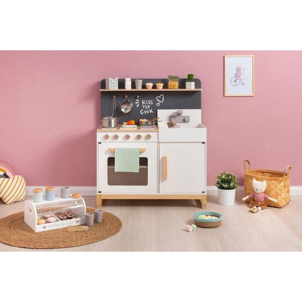 MUSTERKIND® Spielküche »Linum, weiß«