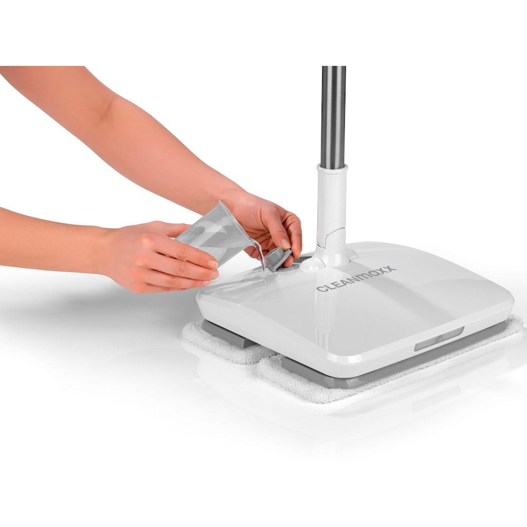 CLEANmaxx Akku-Wischmopp »Akku-Vibrationsmopp 11,1V weiß«