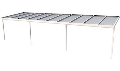 GUTTA Terrassendach »Premium«, BxT: 1014x306 cm, Dach Sicherheitsglas klar kaufen