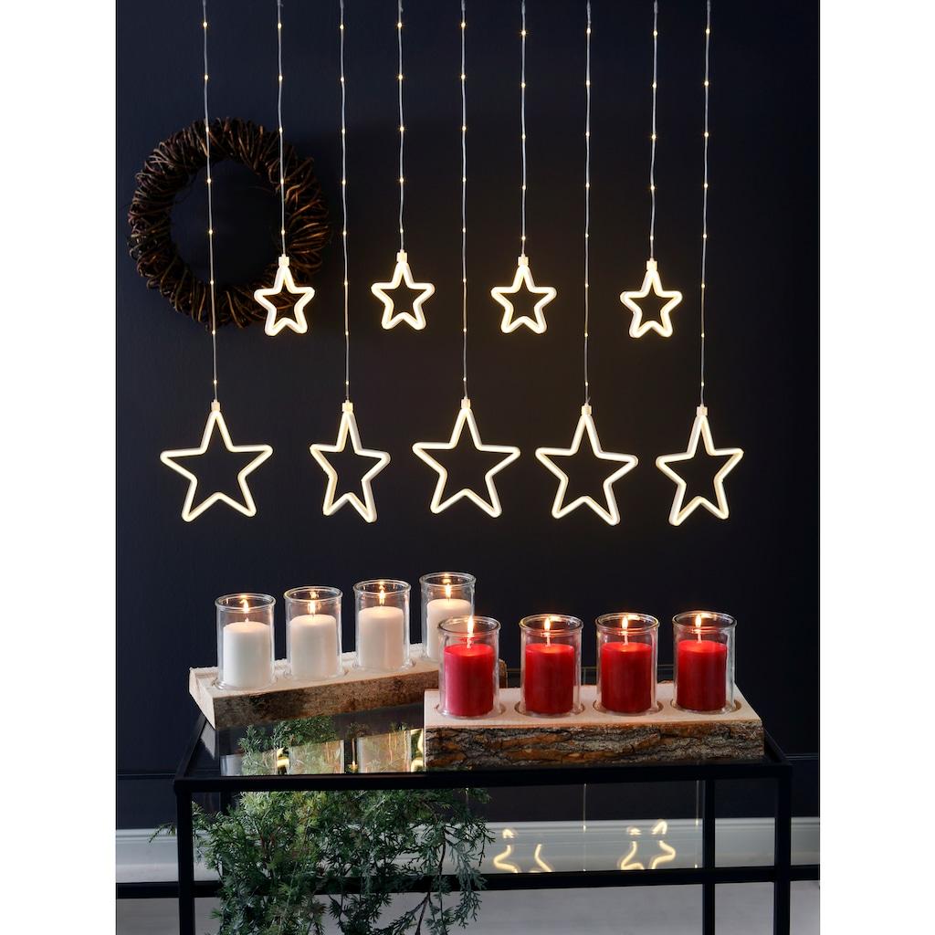 LED-Lichtervorhang »Sterne«