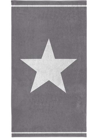 Seahorse Strandtuch »Star«, (1 St.), mit großem Sternemotiv kaufen
