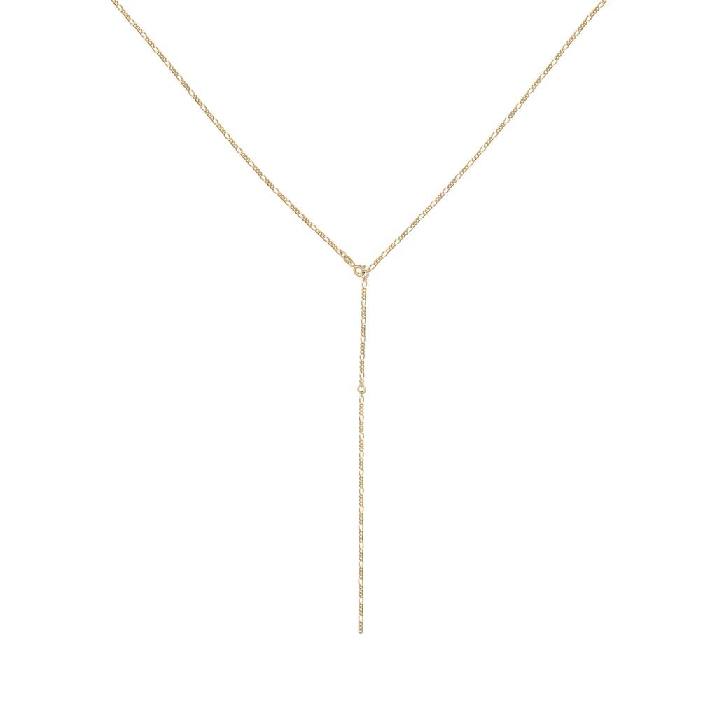 Elli Collierkettchen »Y-Kette Figaro Basic Trend Verstellbar 925 Silber«