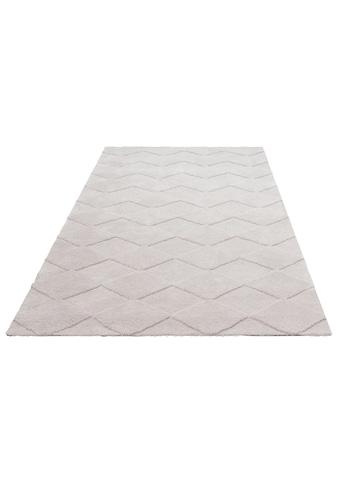 Leonique Teppich »Alvin«, rechteckig, 18 mm Höhe, Besonders weich durch Mikrofaser, Wohnzimmer kaufen