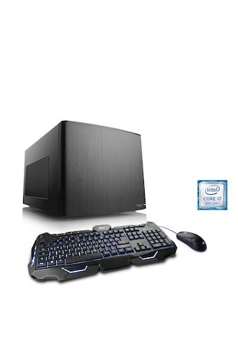 CSL Mini - ITX PC Core i7 - 8700   GTX 1060   16GB DDR4   250GB SSD »Gaming Box T7661 Wasserkühlung« kaufen