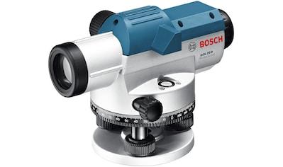 BOSCH PROFESSIONAL Nivelliersystem »GOL 20 D«, optisch, Arbeitsbereich: max. 60 m kaufen