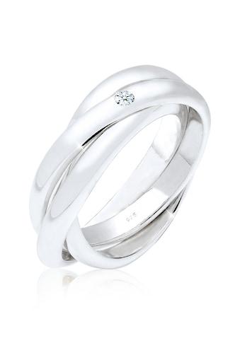 Elli Verlobungsring »Verlobungsring Diamant 0.03 ct. 925 Silber« kaufen