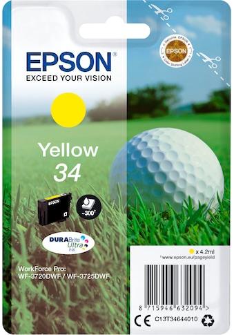 Epson Tintenpatrone »Singlepack Cyan 34 Gelb DURABrite« kaufen